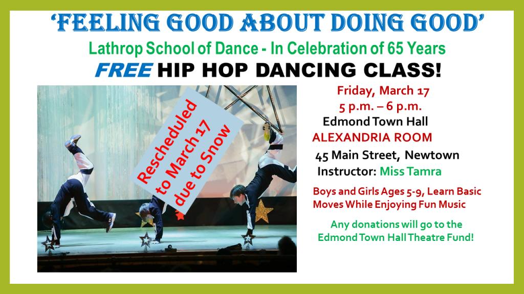 Free Hip Hop Dancing Snow Date
